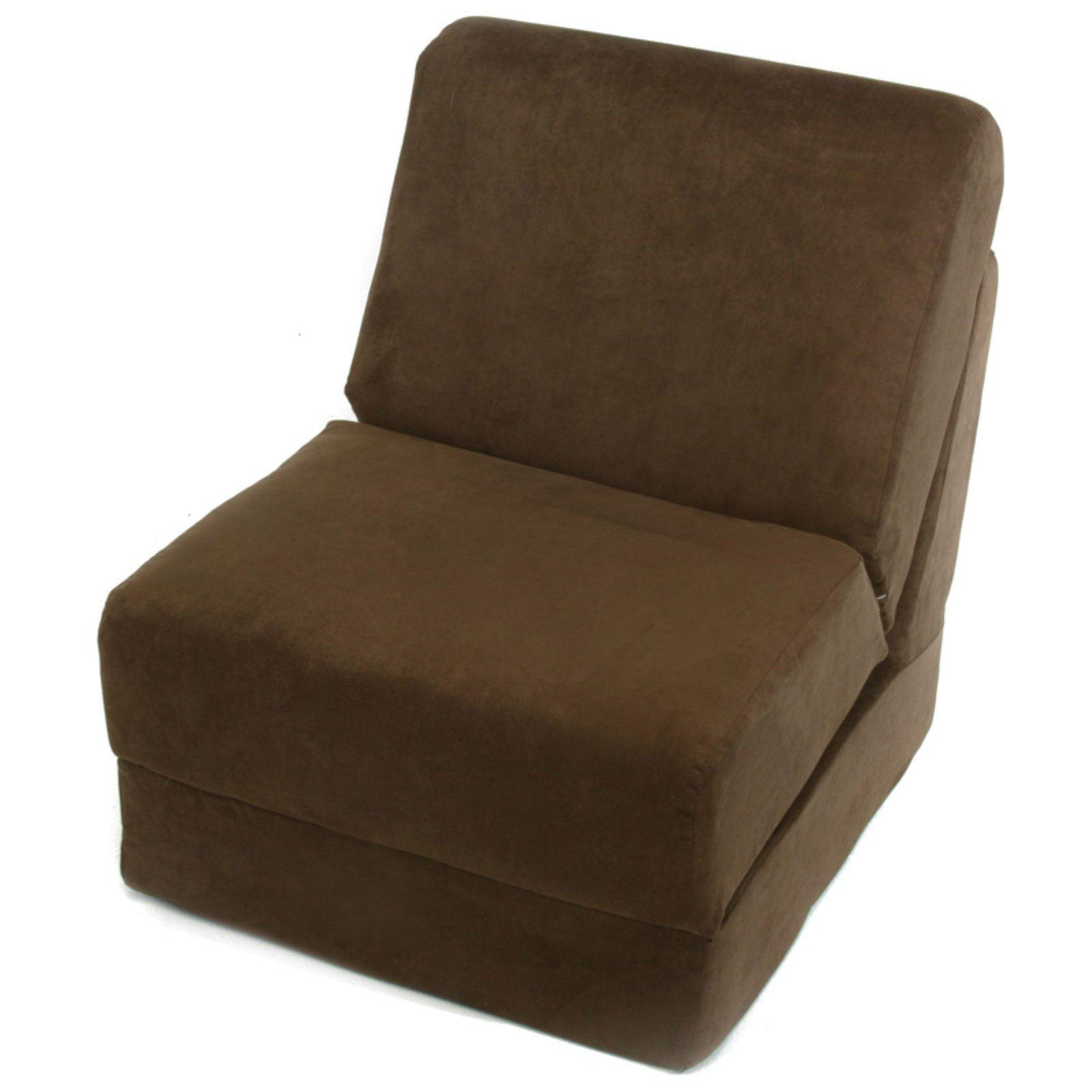 Fun Furnishings Micro Suede Teen Sleeper Chair