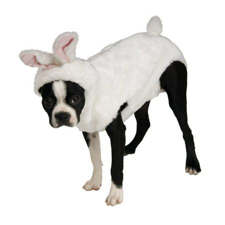 Plush Bunny Pet Costume - image 1 of 1