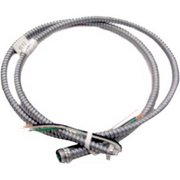 SOUTHWIRE COMPANY 55292015 14 AWG 3 Conductor Solid Metal Clad Lite Whip 600VAC 6 ft.