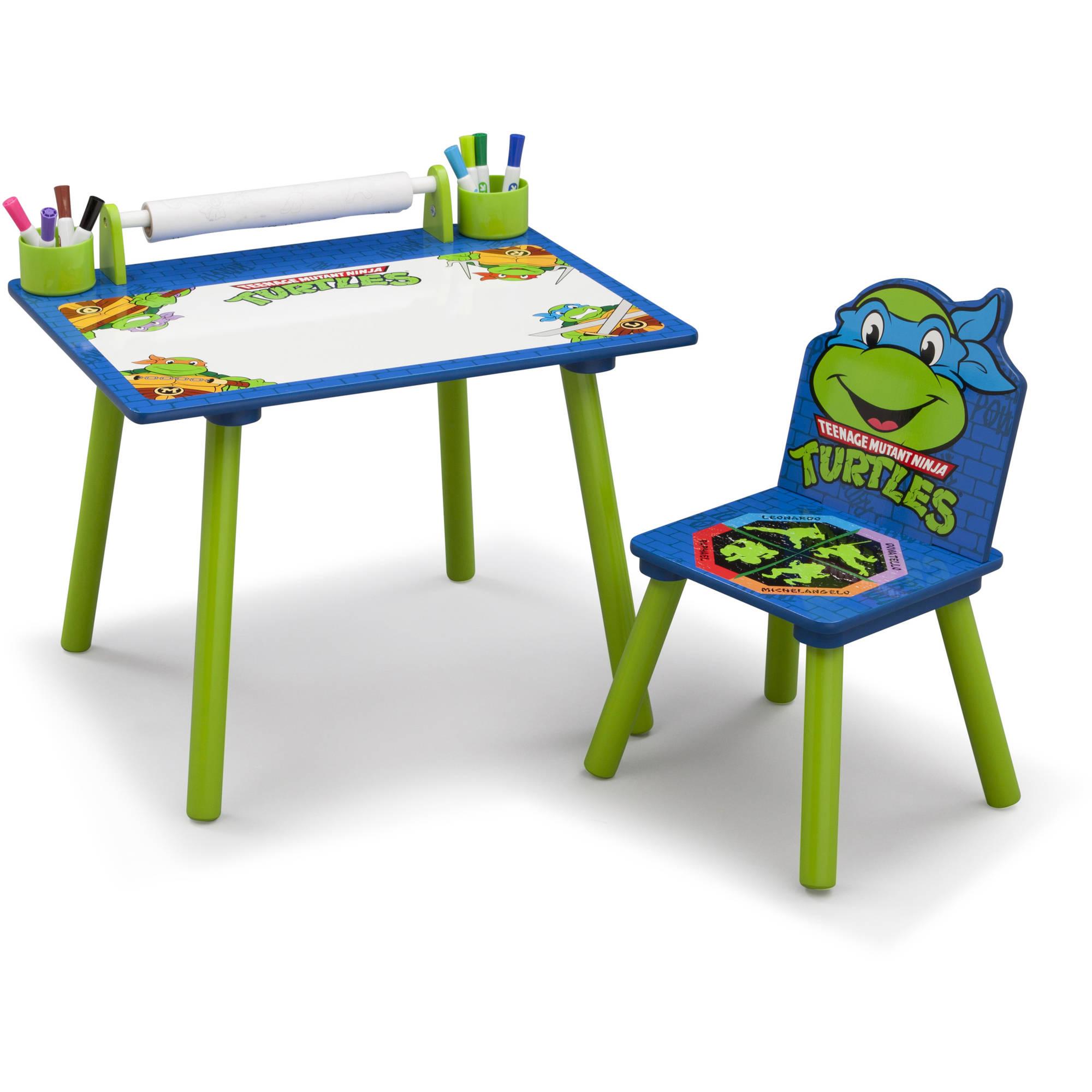 Delta Children Nickelodeon Ninja Turtles Art Desk