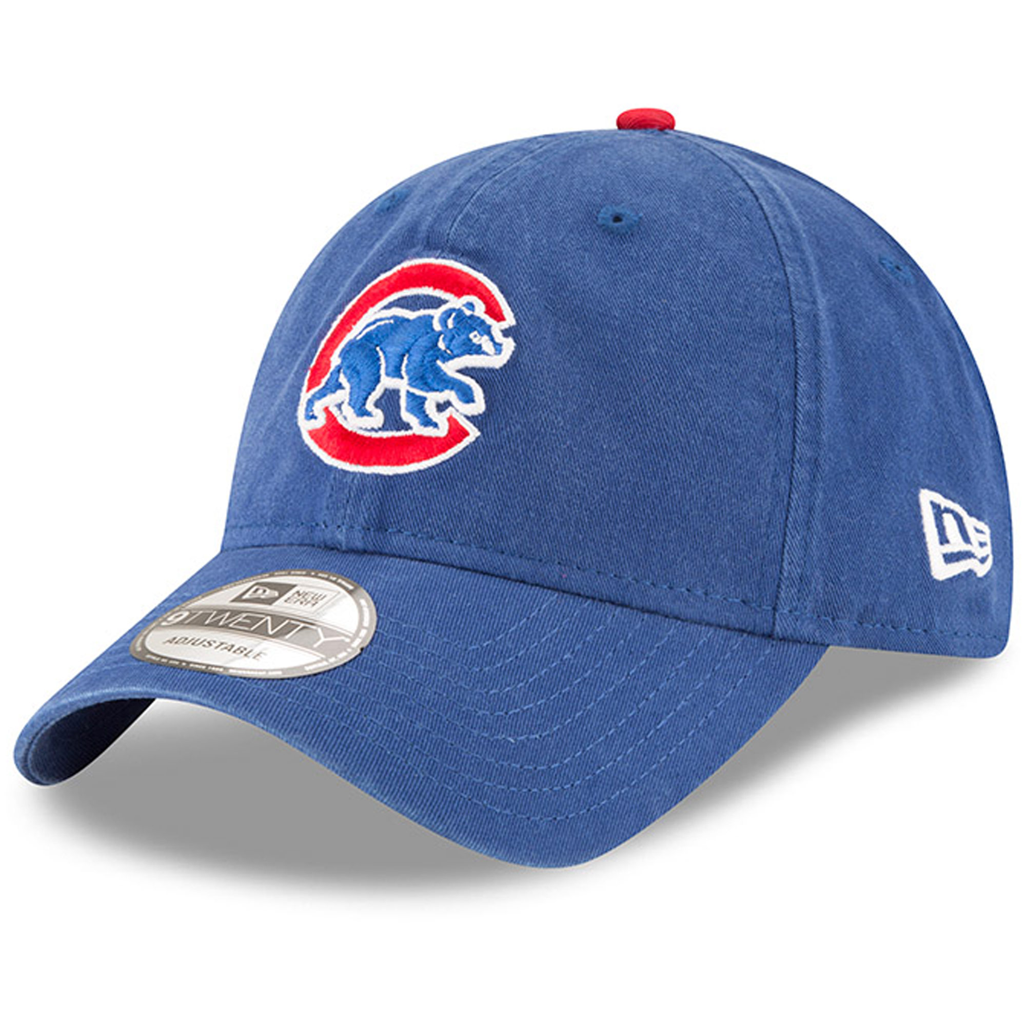 Chicago Cubs New Era Walking Bear Logo Replica Core Classic 9TWENTY Adjustable Hat - Royal - OSFA