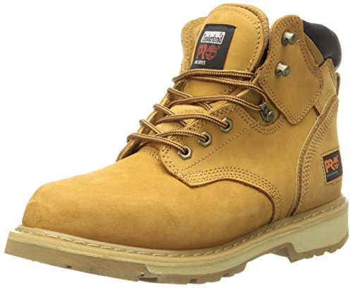 "Timberland PRO Men's Pitboss 6"" Soft-Toe Boot,Wheat,7.5 W by Timberland PRO"