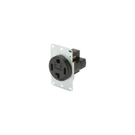 hubbell rr430f tradeselect black 30a 125 250v flush mount
