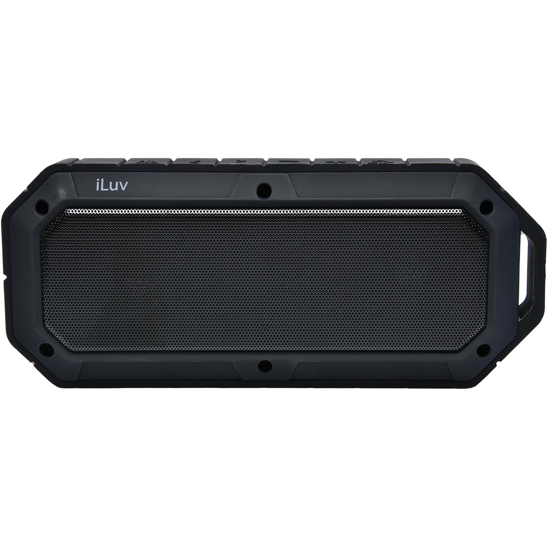 Iluv Collisionbk Rugged & Water - resistant Bluetooth Speaker