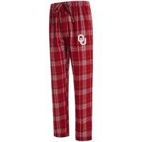 Oklahoma Sooners Concepts Sport Big & Tall Hillstone Flannel Pants - Crimson