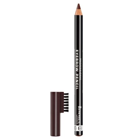 Rimmel Professional Eyebrow Pencil, Dark Brown (Best Rated Eyebrow Pencil)