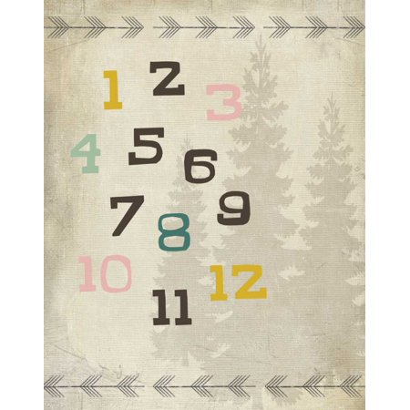 Educational Woodland 1 Poster Print by SD Graphics Studio