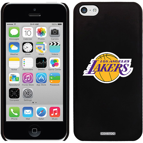 Los Angeles Lakers Design on iPhone 5c Thinshield Snap-On Case by Coveroo