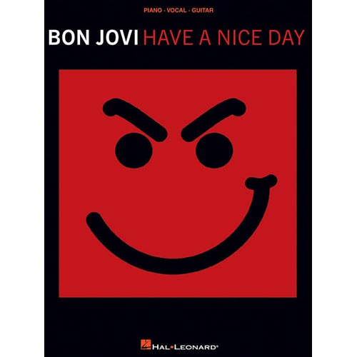 Bon Jovi, Have a Nice Day: Piano, vocal, guitar