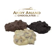 Andy Anand Old Fashioned Chocolate Almond Cluster Bridge, Amazing-Delicious-Decadent Gift Boxed & Greeting Card Birthday Valentine Christmas