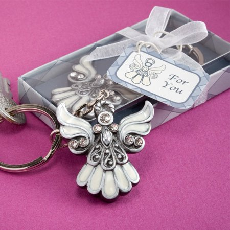 Angel Design Keychain, 1 Piece, Day in and day out everyone has their keys close by. So here