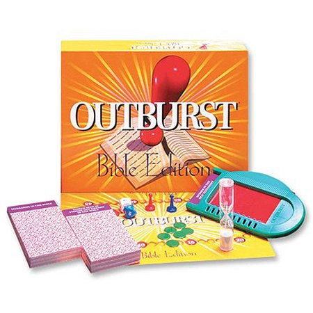 Talicor Bible Outburst Game - Bible Based Games For Halloween