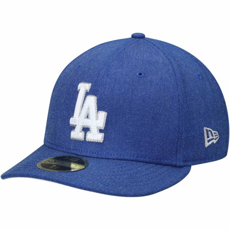 watch 64600 e432b Los Angeles Dodgers New Era Crisp Low Profile 59FIFTY Fitted Hat -  Heathered Royal - Walmart.com