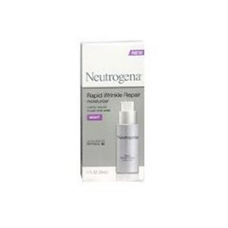 Neutrogena Rapid Wrinkle Repair Anti-Wrinkle Night Accelerated Retinol SA Facial Moisturizer, 1 fl.