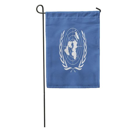 POGLIP Emblem United Nations Flag for 10 24 Day Graphic Label Garden Flag Decorative Flag House Banner 12x18 inch - image 1 of 2