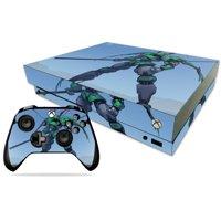Skin Decal Wrap for Microsoft Xbox One X Tera