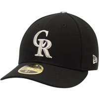Colorado Rockies New Era Alternate 3 Authentic Collection On-Field Low Profile 59FIFTY Fitted Hat - Black