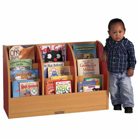 CE Single-Sided Toddler Book Stand - Blue