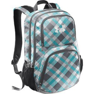 5a4720193306 Under Armour - Sky Blue Grey Plaid Unisex PTH Victory Backpack ...
