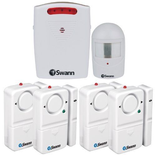 Swann SW351-MD2 Kit, Driveway Alarm, Door And Window Alarm