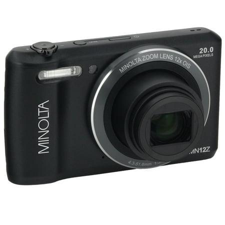 Minolta Mn12z-bk 20.0-megapixel Hd Wi-fi[r] Digital Camera [black]
