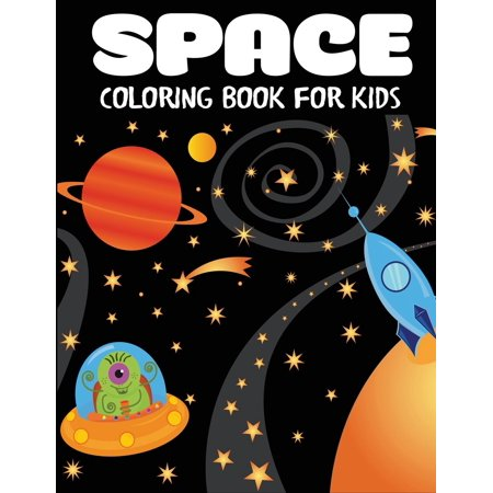 Astronaut Space Food (Space Coloring Book for Kids : Fantastic Outer Space Coloring with Planets, Astronauts, Space Ships,)