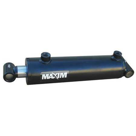 MAXIM 288-367 Hyd Cylinder, 4 In Bore, 12 In Stroke