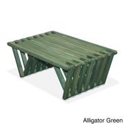 Eco Friendly Coffee Table X36 Made in USA Alligator Green