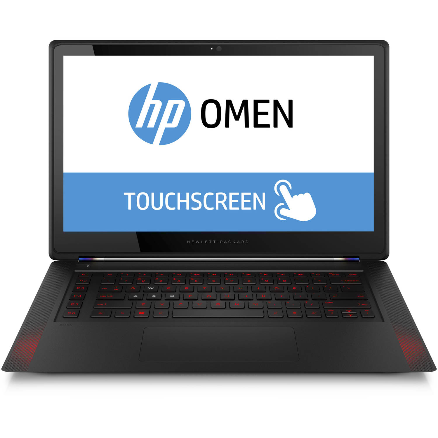 "HP Black 15.6"" Omen 15-5220Nr Laptop PC with Intel Core i7-4720HQ Quad-Core Processor, 16GB Memory, Touchscreen, 512GB SSD and Windows 10 Home"