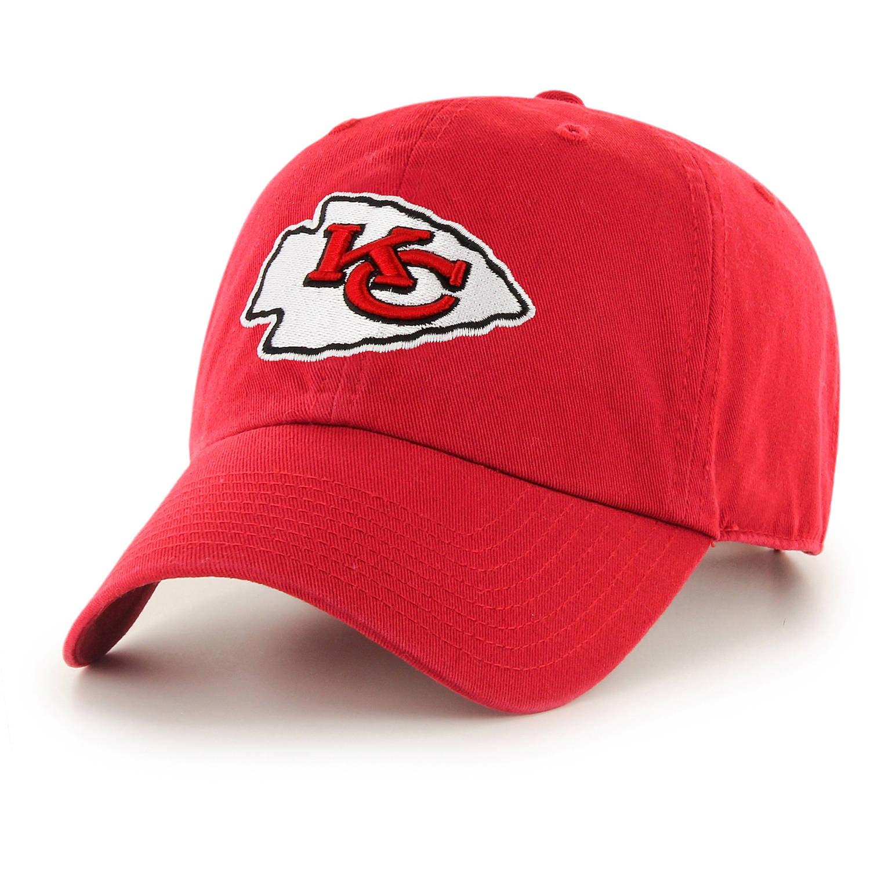 NFL Kansas City Chiefs Clean Up Cap / Hat by Fan Favorite