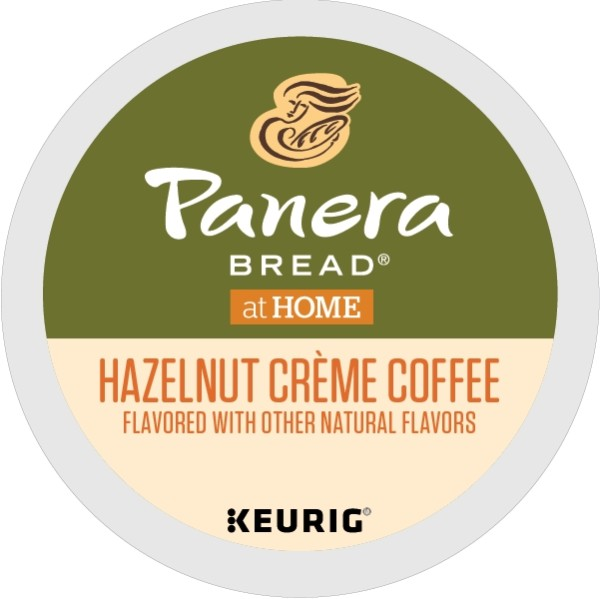 Panera Hazelnut Crème Coffee, Keurig K-Cup Coffee Pods, Flavored, 48 Count