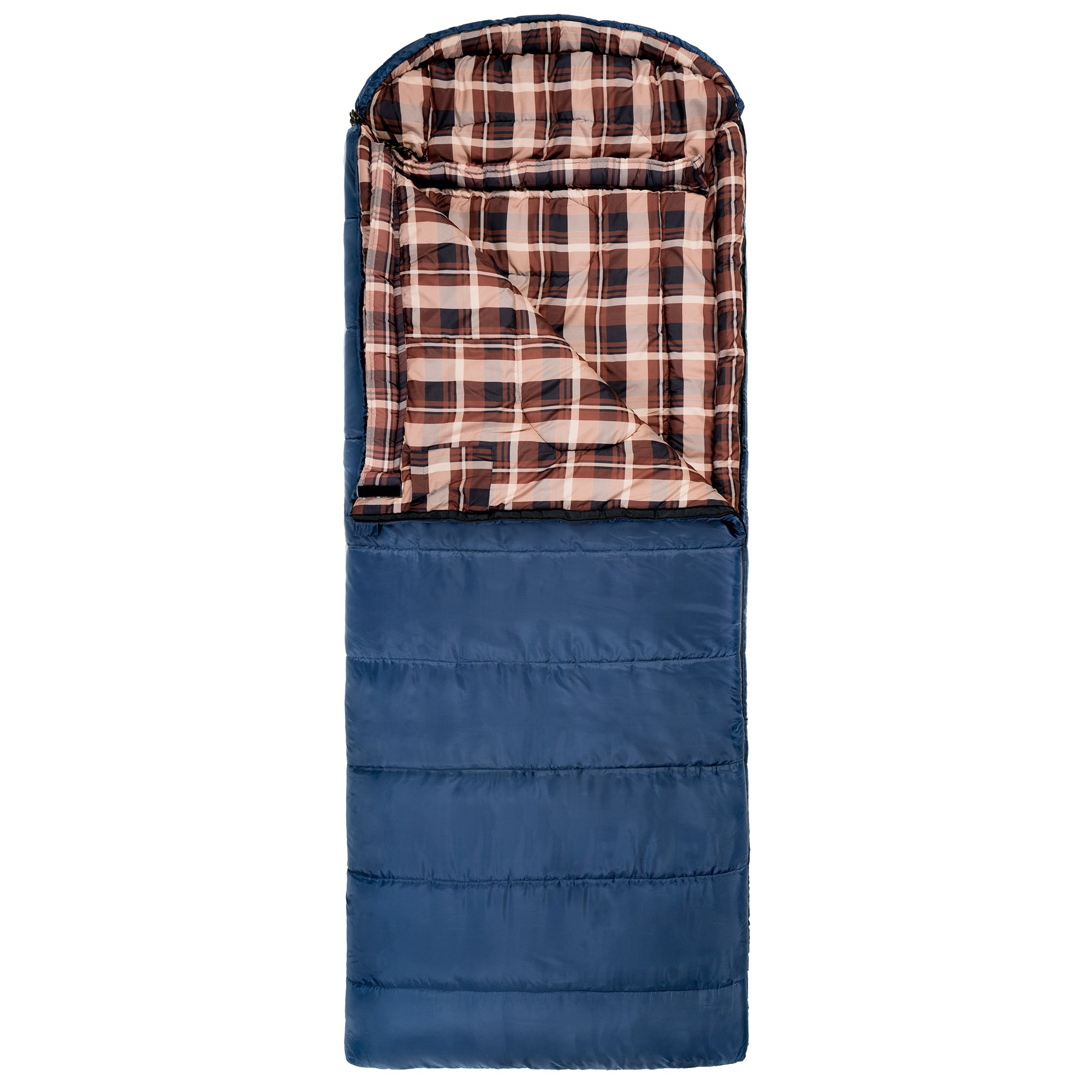Teton Sports Celsius XL -7C/+20F Sleeping Bag (Blue) left zip