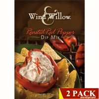 Wind & Willow Gourmet Roasted Red Pepper Dip Mix 2-pack