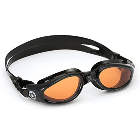 best sneakers half off watch Aqua Sphere Kaiman Tinted Goggles Black with Amber Lens ...