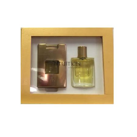 INTUITION by Estee Lauder .5 oz EDP womens perfume Spray + 1 refill SET NIB