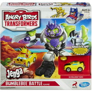 Angry Birds Transformers Jenga Bumblebee Battle Game