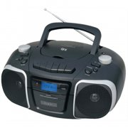 Jumbo Boom Box, AM/FM CD Cassette, USB, AUX
