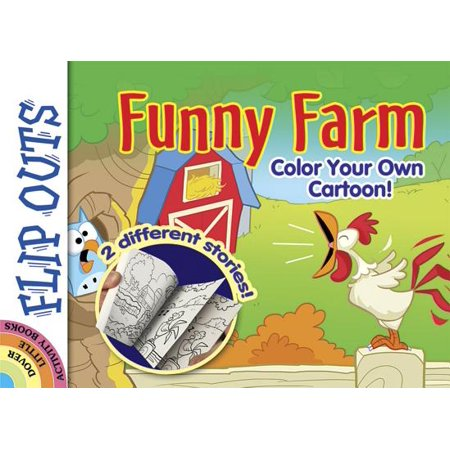 Flip Outs -- Funny Farm : Color Your Own Cartoon!](Funny Halloween Political Cartoons)