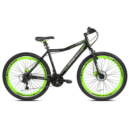 "Genesis 27.5"" RCT Men's Bicycle, Green, For Height Sizes 5'6"" and Up"