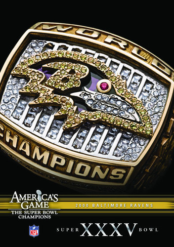 NFL America's Game: Baltimore Ravens Super Bowl XXXV (DVD) by CINEDIGM