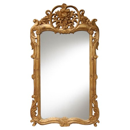 Hickory Manor House Flourishing Wall Mirror - 21.5W x 38H in.