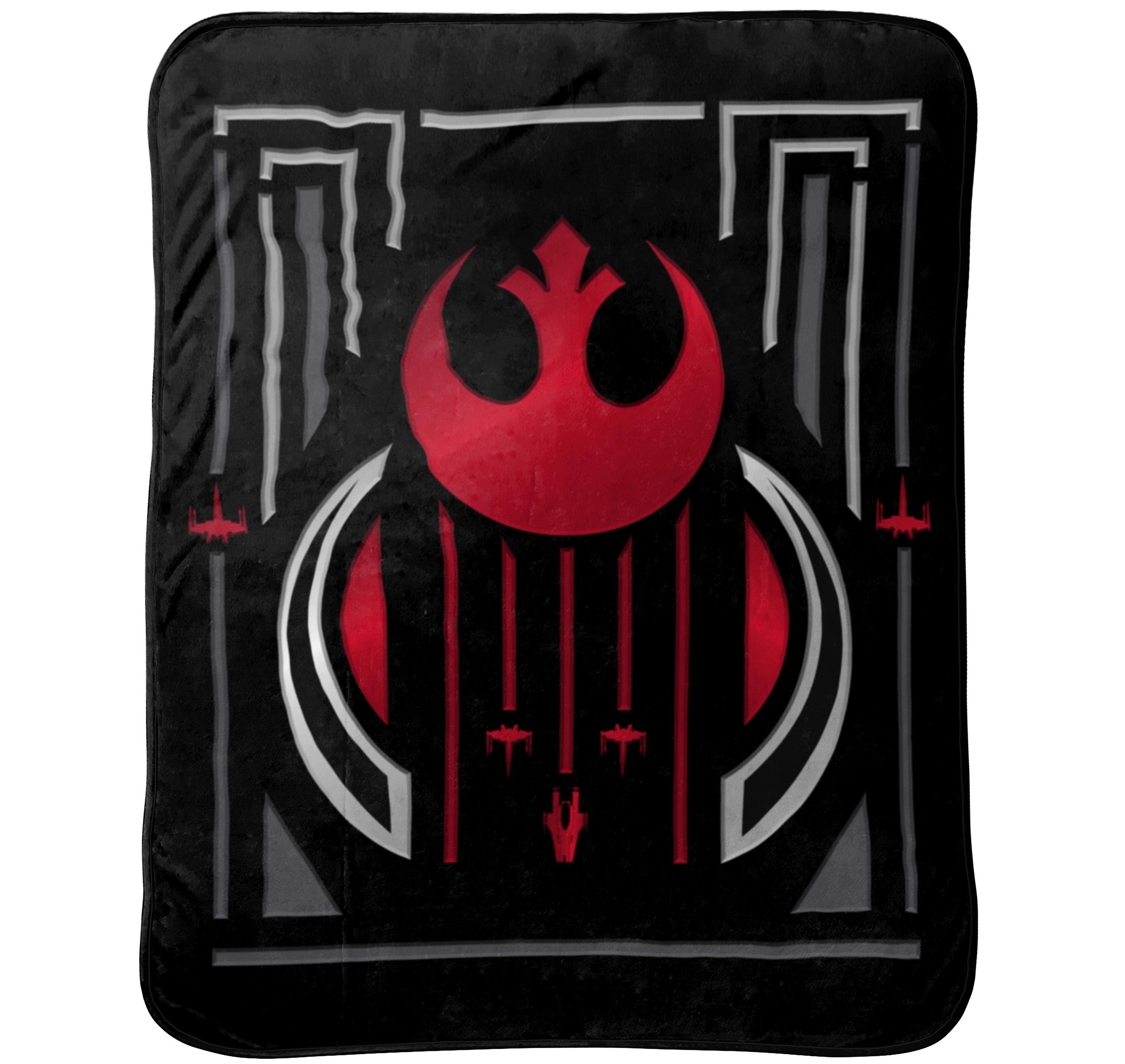 Star Wars Episode 8 The Last Jedi Kids Bedding Throw, 1 Each
