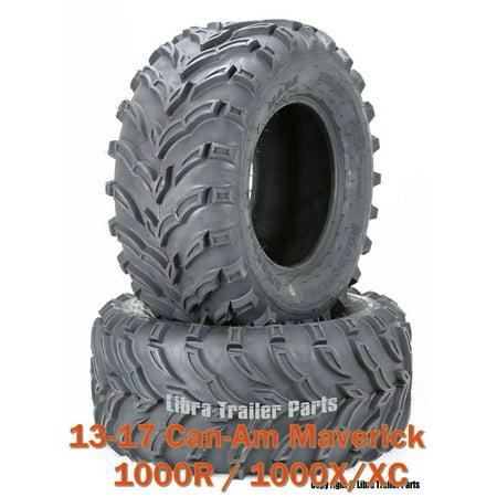 13-17 Can-Am Maverick 1000R/ 1000X/XC ATV Rear Tire Set 27x11-12 /6PR