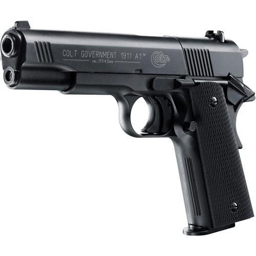 Colt Government 1911 A1 .177 Pellet Air Pistol with 8-Shot Magazine by Umarex USA