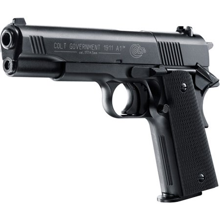 Colt Government 1911 A1  177 Pellet Air Pistol With 8 Shot Magazine