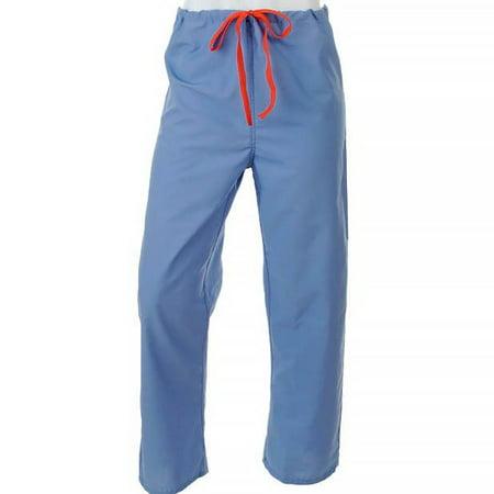 Medline Unisex Reversible Scrub (Medline  Unisex Reversible Ciel Drawstring Scrub Pants )