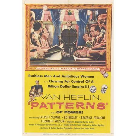 1956 Pattern (Patterns - movie POSTER (Style A) (11