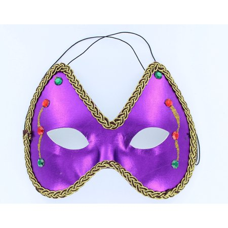 Mardi Gras Eye Costume Mask: Purple - Best Mardi Gras Costumes