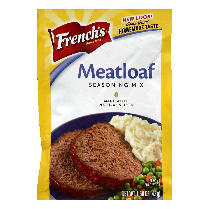 Frenchs Seasoning Mix, Meatloaf