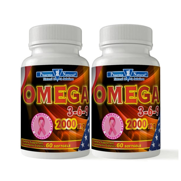 Pharma Natural Omega 3 6 9 2000 Mg Softgels 60 60 Walmart Com